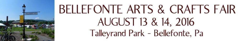 The Bellefonte Arts & Crafts Fair in Bellefonte, PA